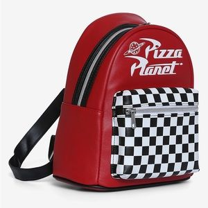 LOUNGEFLY DISNEY TOY STORY PIZZA PLANET BACKPACK
